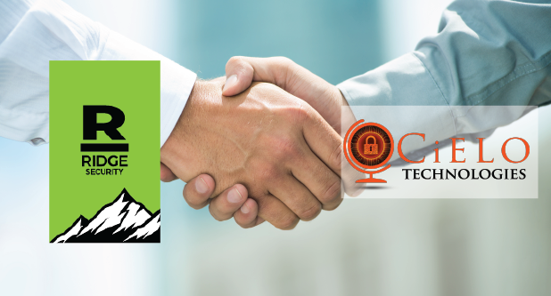Cutting Edge Pen-Testing Solution Provider Ridge Security Signs Distribution Agreement with CiELO Technologies for Expansion into India and Middle East Market