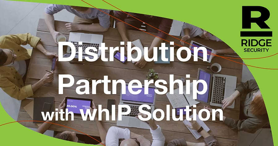 Distribution Partnership with whIP Solution